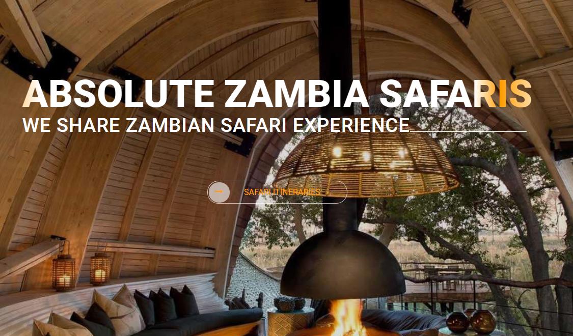 ABSOLUTE ZAMBIA SAFARIS. WE SHARE ZAMBIAN SAFARI EXPERIENCE